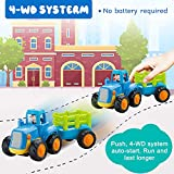 GoStock Friction Powered Cars Push and Go Toys for