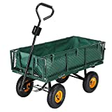 Palm Springs Outdoor Heavy Duty Garden Cart/Utility Wagon - 600lbs Max Capacity