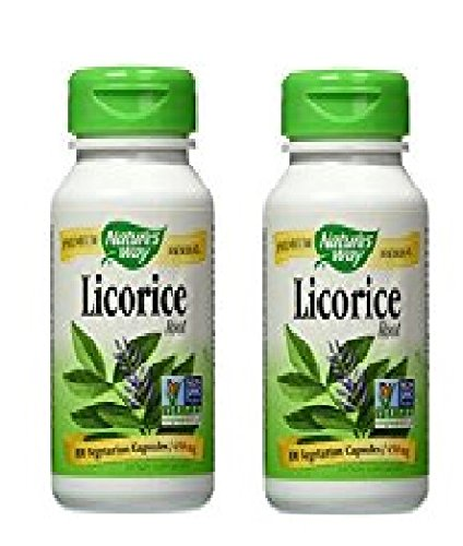 Nature's Way Licorice Root Capsules, 200 Count ()
