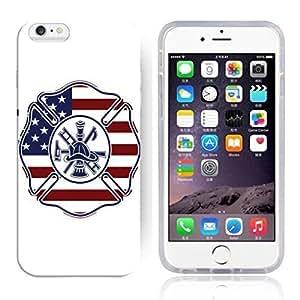 America Flag Design Pattern HD Durable Hard Plastic Case Cover for iphone 6 Plus Kimberly Kurzendoerfer