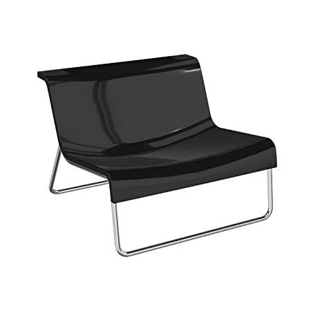 Kartell Form   Charcoal Grey Armchair (Original Made In Italy)