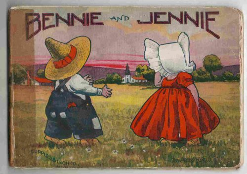 [Bennie & Jennie a story for Little Tots about Good Fairy,  Industry Who visits Farm & Brother & Sister Orphans who Live Alone There taking care of Their Chores] (Hinge Tote)