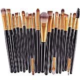 Hosaire Pro Makeup 20pcs Brushes Set Eyeshadow Eyeliner Lip Brush Powder Foundation Tool