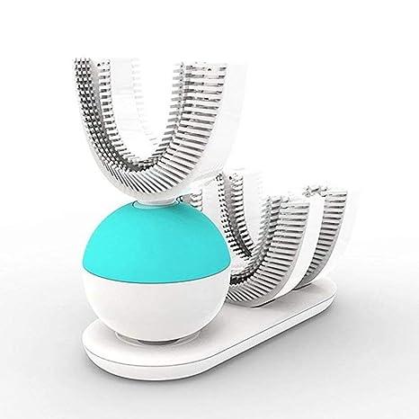 CUIXI Cepillo de Dientes eléctrico con Carga inalámbrica Sonic Cepillo de Dientes con diseño de Boca