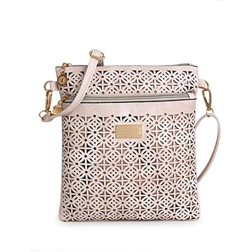 Women Medium Shoulder Bag Handbag Cross-body Bags Cheap Colors for Girl by TOPUNDER ZU (Bag Gold Shoulder Medium)