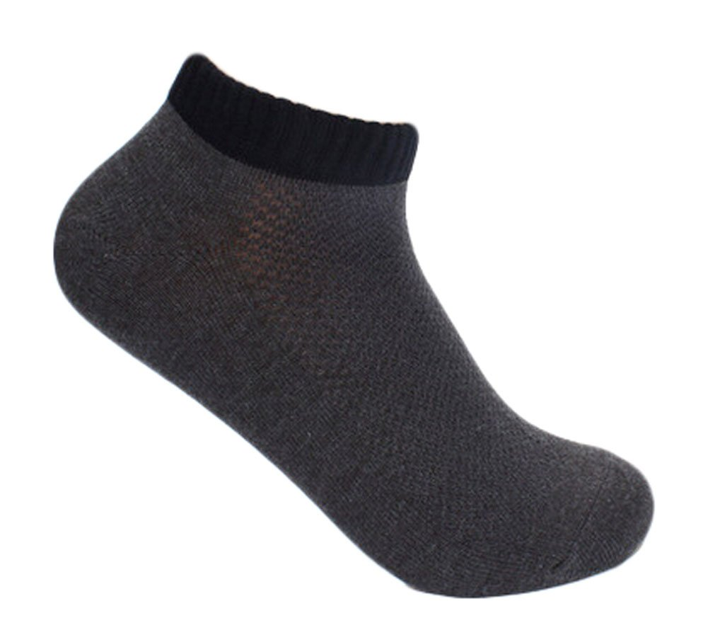 PANDA SUPERSTORE Dark Gray Mens Casual Sports Cotton Socks