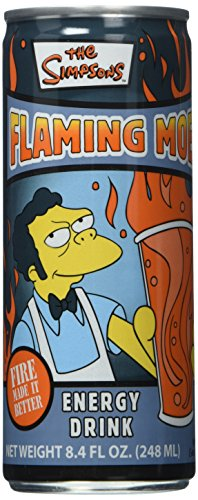 Simpsons Flaming Moe, 8.4-Ounce Cans (Pack of 24)