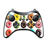 Bright Colorful Donuts Doughnuts Yummy Wii U Pro Controller Vinyl Decal Sticker Skin by Debbie's Designs Review