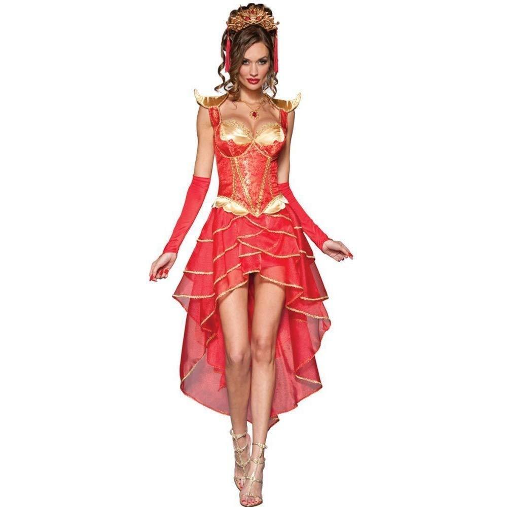 Fashion-Cos1 Halloween Hexe Kostüme Weißnachten Karneval Kleidung Fantasie Retro Gericht Kostüm Prinzessin Schauspieler Kostüm Party Kostüm