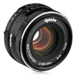 Opteka 50mm f/2.0 HD MC Manual Focus Prime Lens for Canon EF-M Mount