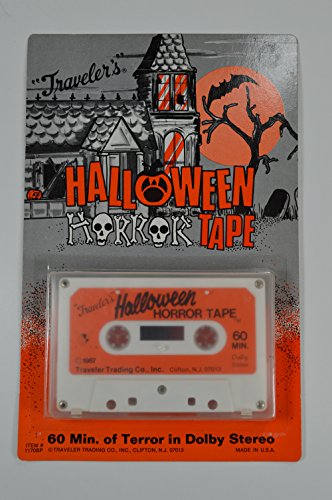 Travelers Halloween Horror Cassette - Halloween Sounds -