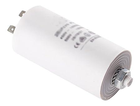 DREHFLEX- 8 µF condensador de arranque para lavadora/secadora ...