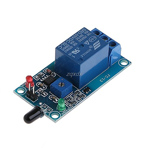 (SAUJNN MK00171 One Way Flame Sensor Module Fire Detection Alarm Module Z07 Drop Ship)