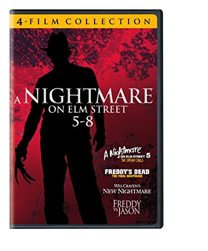 4 Film Favorites: Nightmare on Elm Street 5-8 (Freddy vs Jason, Freddy's Dead: The Final Nightmare, Nightmare on Elm Street 5: The Dream Child, Wes Craven's New Nightmare)