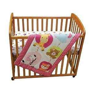 Amazon Com Lambs Amp Ivy 3 Piece Mini Crib Bedding Set