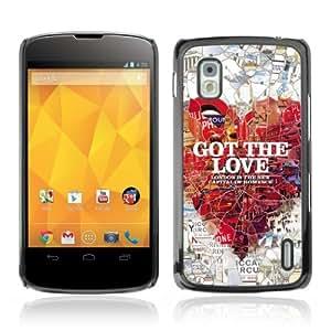 YOYOSHOP [London Romance] LG Google Nexus 4 Case
