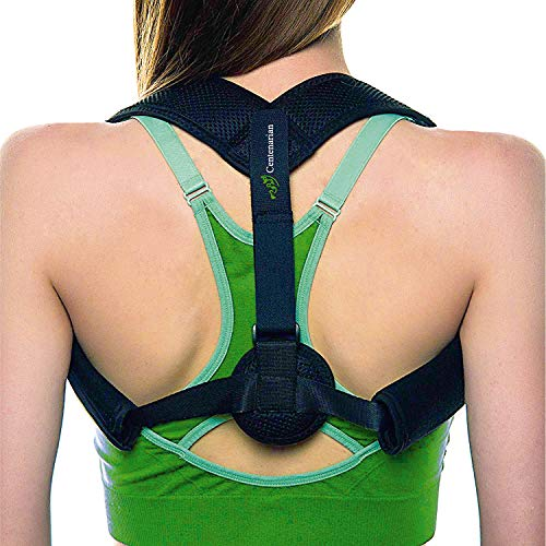Posture Corrector for Men Kids - Upper Back Support for Woman - Adjustable Back Straightener Posture for Kids - Kyphosis Scoliosis Bad Posture - Posture Brace for Yoga and Back Neck Pain Relief