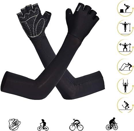 KuaiKeFsport Guantes Moto Ciclismo Manguitos de Enfriamiento ...