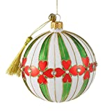 Noelle - JingleNog - Polish Mouth Blown Glass Christmas Tree Decoration with Gift Box and Story Card