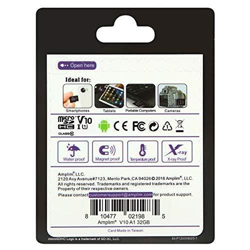 Image of Amplim TF Memory Card 32GB Micro SD SDHC Card Plus