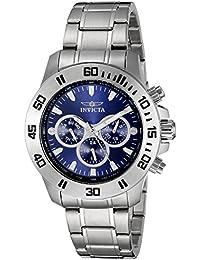 Men's 21482 Specialty Analog Display Swiss Quartz Silver Watch
