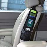 Leadrise® Black Auto Car Seat Side Storage Organizer Bag Hanging with Multi-Pocket