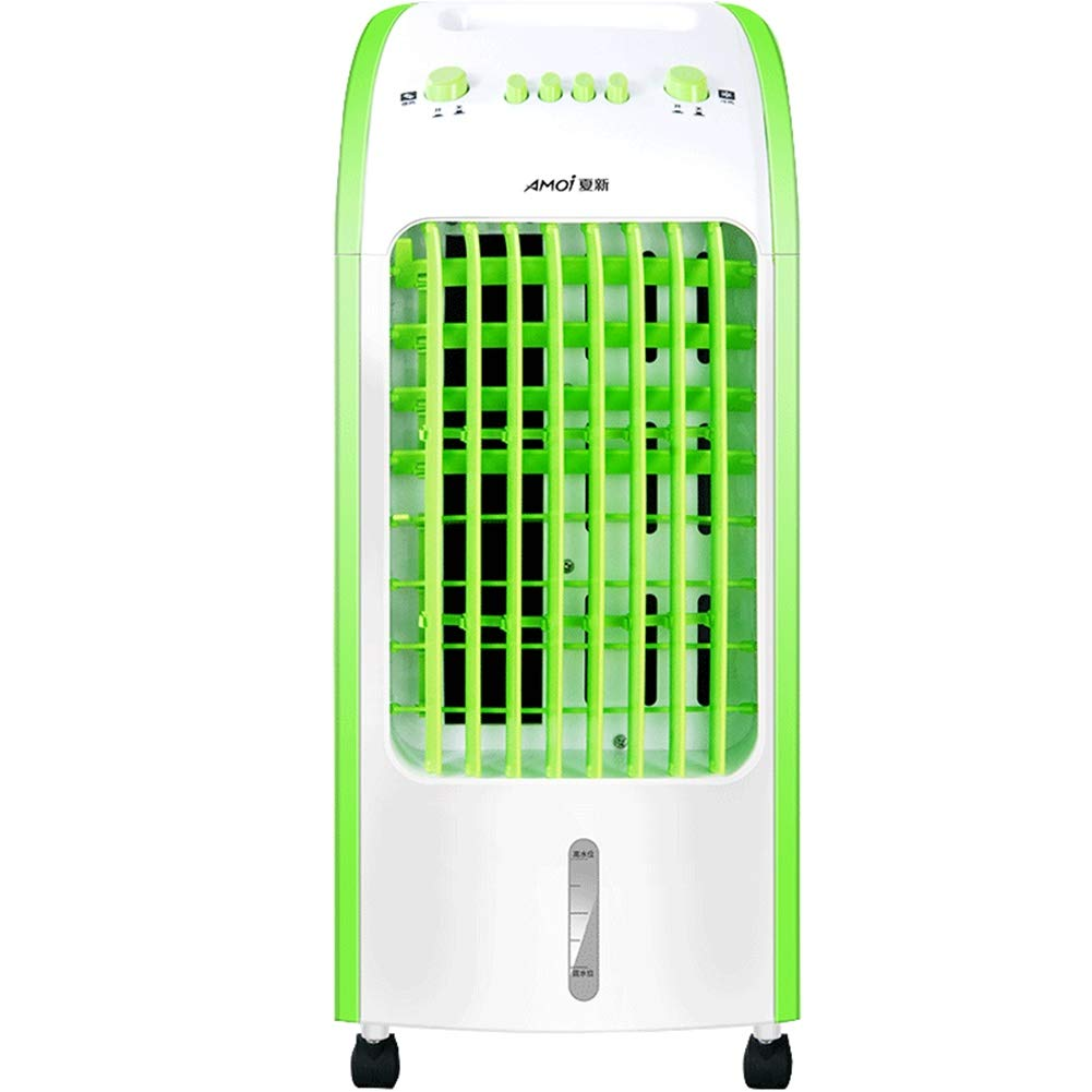 Peaceip 冷暖房二重使用空調ファン、インテリジェントリモコンスーパー省エネ3種類の風速モード7.5時間のタイミング、家庭用水冷小型空調ファン (色 : ブラック) B07QL7S7W5 緑 緑