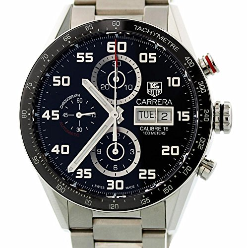 Tag Heuer Carrera Automatic-self-Wind Male Watch (Certified Pre-Owned) -