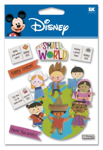 World Dimensional Sticker (Disney World Scrapbook)