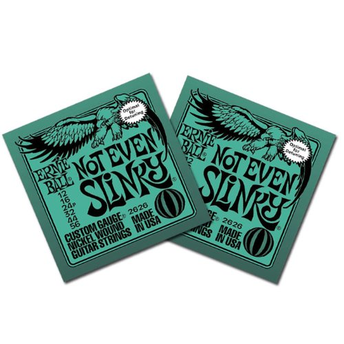 Ernie Ball 2626 Not Even Slinky Electric Guitar Strings 12-5