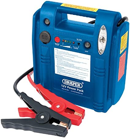 Draper 24341 Portable Power Pack 12 V 1200 A: Amazon.es: Coche y moto