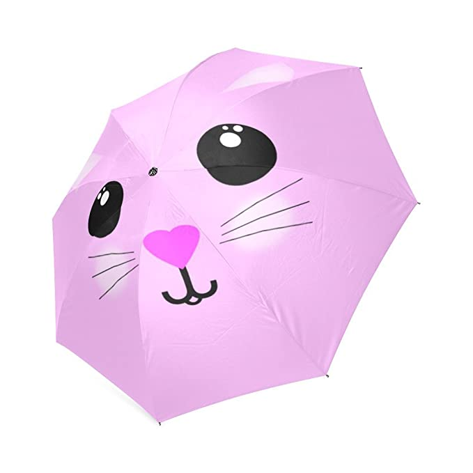 Custom Foldable Umbrella Kawaii Hello Kitty plegable paraguas: Amazon.es: Hogar