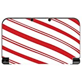 Christmas Red Candy Cane New 3DS XL 2015 Vinyl Decal Sticker Skin by Moonlight Printing