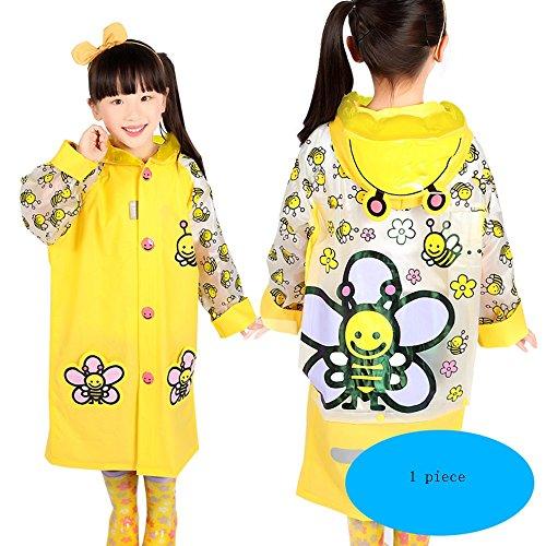 Impermeabile Yuyi Opzionale Tutina 5 Dimensioni Colori colore B Opzionali Con Bambini D Poncho Ambientale Da Bambino S Per Borsa Zzhf xISdqZS