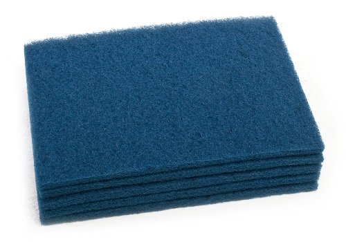 Clarke 997021 Commercial 14 Inch X 20 Inch Blue Pad (Heavy Scrub), Case of 5