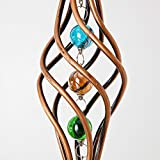 Bits and Pieces - Copper Toned Wind Ornament - Unique Outdoor Lawn and Garden Décor -...