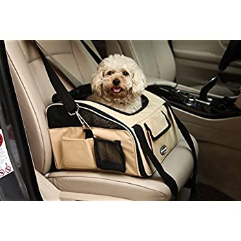 WOpet Pet Car Seat Carrier Airline Approved For Dog Cat Puppy Small Pets Travel Cage L