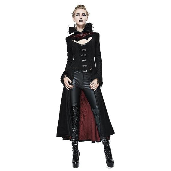 Veste D'hiver Manteau Longue Devil Automne Gothique Fashion Femmes Wq1HwHUO