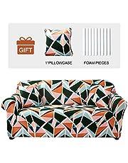 JOYDREAM 1 funda de sofá estampada de alta elasticidad, antideslizante, protector de muebles, universal, funda de sofá suave, S/M/L/XL