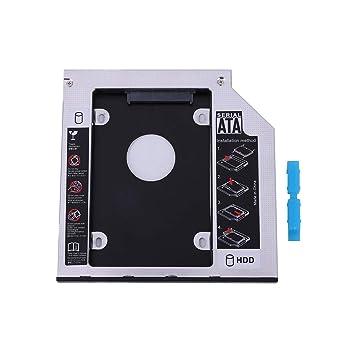 aediea SATA 2nd HDD SSD - Caja de Disco Duro para CD/DVD-ROM ...