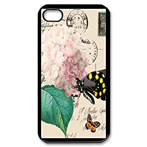 Good Quality Phone Case Designed With Travel Cards For iPhone 4,4S