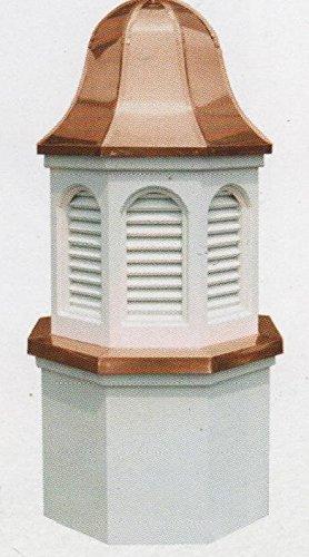 Pinnacle Vinyl Cupola Copper Ring Base 24'' X 47''