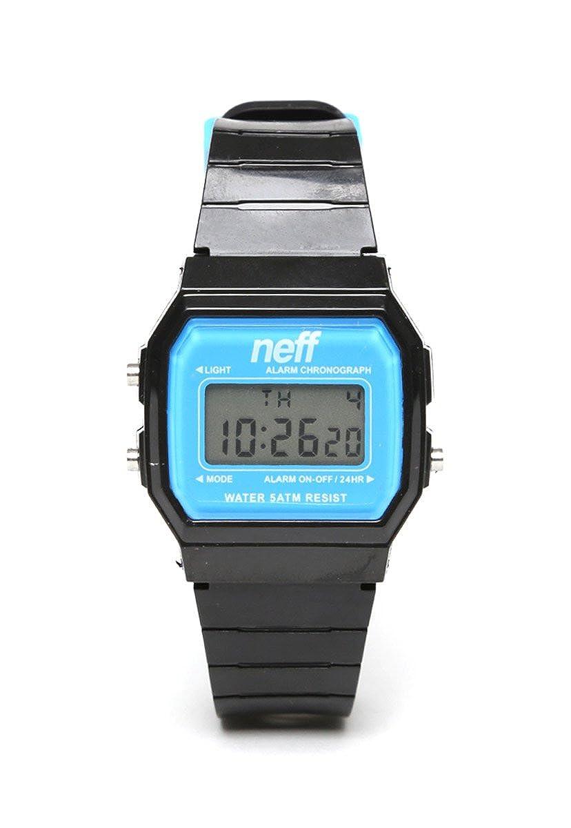 Neff NF0204BKCYWTCH - Reloj de pulsera hombre, color negro: Amazon.es: Relojes