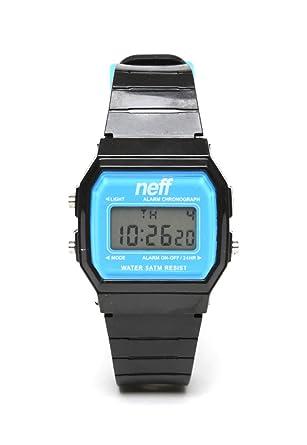 Neff NF0204BKCYWTCH - Reloj de pulsera hombre, color negro