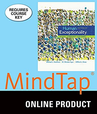 MindTap Education for Hardman/Egan/Drew's Human Exceptionality: School, Community, and Family, 12th Edition