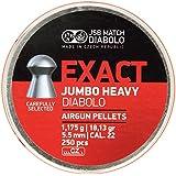 JSB Diabolo Jumbo Exact Heavy .22 Caliber Air Gun Pellets 250 ct.