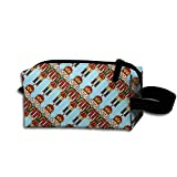 Ballet Nutcracker Storage Pouch Bag Cosmetic Bag Zipper Pouch Multiple For Girls