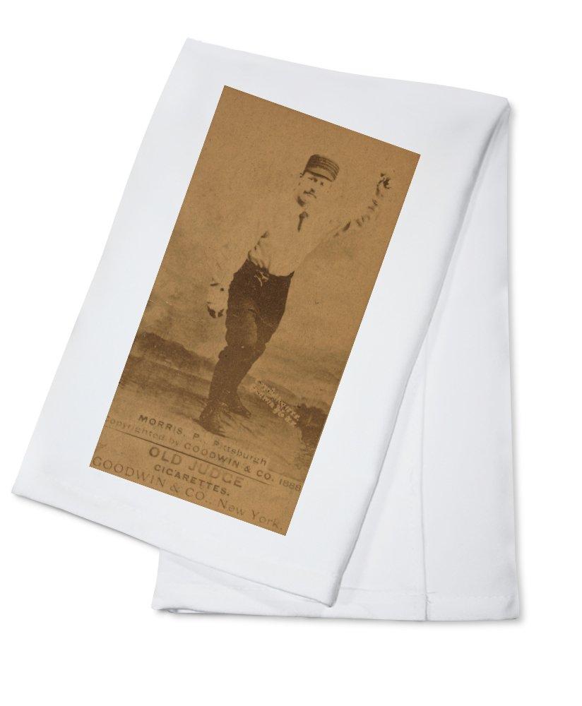 ピッツバーグパイレーツ – Ed Morris – 野球カード Cotton Towel LANT-22964-TL Cotton Towel  B0184BUZBK