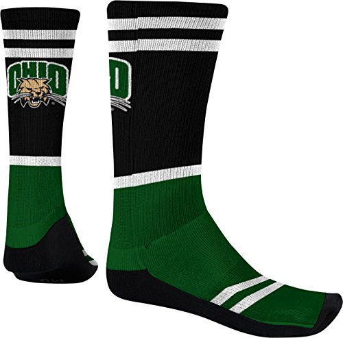 Spectrum Sublimation Men's Ohio University Classic Sublimated Socks (Large)