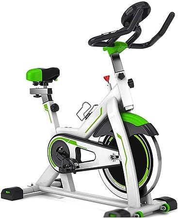 SJS Bicicleta estática, Cubierta Fitness Bicicletas, Datos en Tiempo Real, Inteligente de Monitoreo del Ritmo cardíaco, Cup Holder, para Ejercicios en casa y Cardio: Amazon.es: Hogar